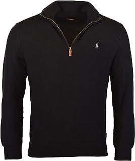 Polo Ralph Lauren Men's Half-Zip Pima Cotton Sweater
