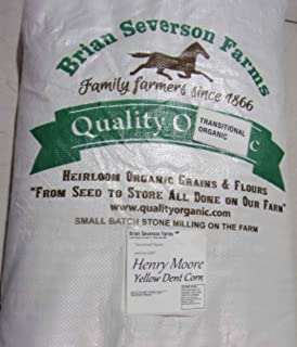 Henry Moore Bolted Grits| Stone Ground Heirloom Open Pollinated non-GMO Bolted Yellow Grits | 12 1/2 lbs. | Farmer Direct