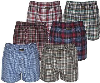 4ef97564c8 MAS International Pack of 3, 6, 9% 12 Knocker Men's Check Boxer Shorts