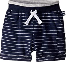 Baby French Terry Yarn-Dyed Stripe Shorts (Infant)