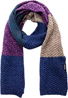 Women's Thick Chunky Cable Knit Wrap Stripes Scarf