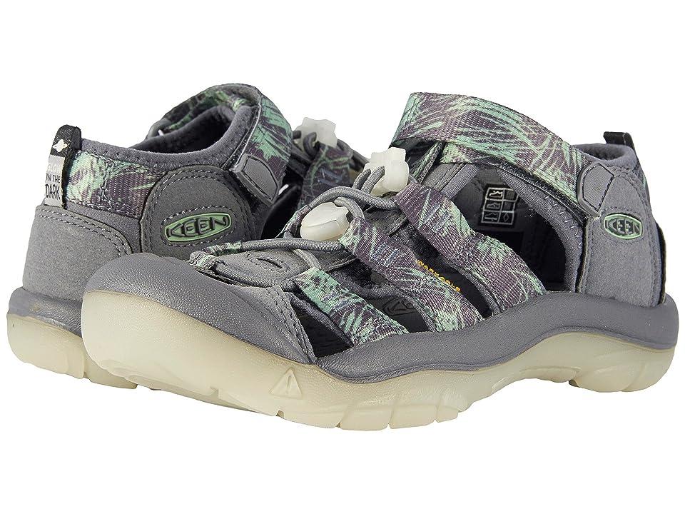 Keen Kids Newport H2 (Little Kid/Big Kid) (Steel Grey/Glow) Boys Shoes