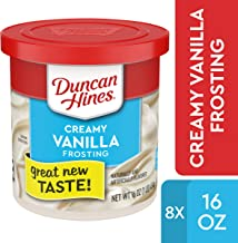 Duncan Hines Creamy Vanilla Frosting, 8 – 16 OZ Cans