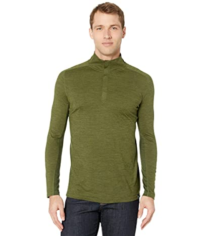 Smartwool Merino Sport 150 1/4 Zip (Moss Green Heather) Men