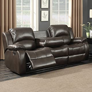 Peachy Amazon Com Reclining Sofa With Drop Down Table Pdpeps Interior Chair Design Pdpepsorg