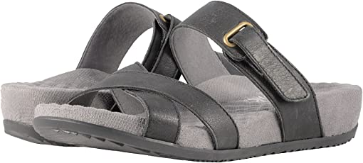 Black Sandal Leather