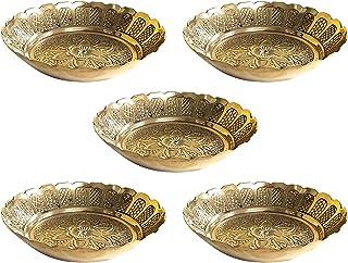 Shubhkart Nakshi Plate (Medium (Pack of 5))