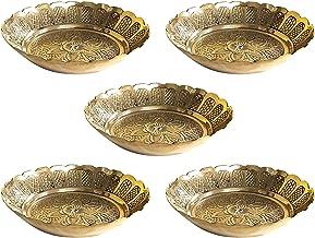 Shubhkart Nakshi Plate (Large (Pack of 5))