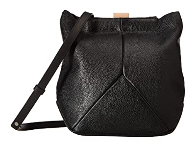 ECCO Ella Crossbody (Black) Cross Body Handbags