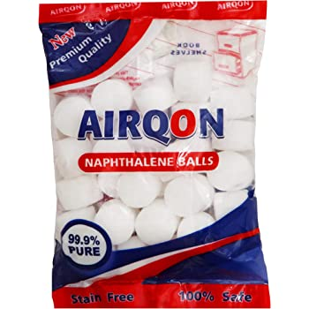 Airqon Napthalene Balls White 200 Gms