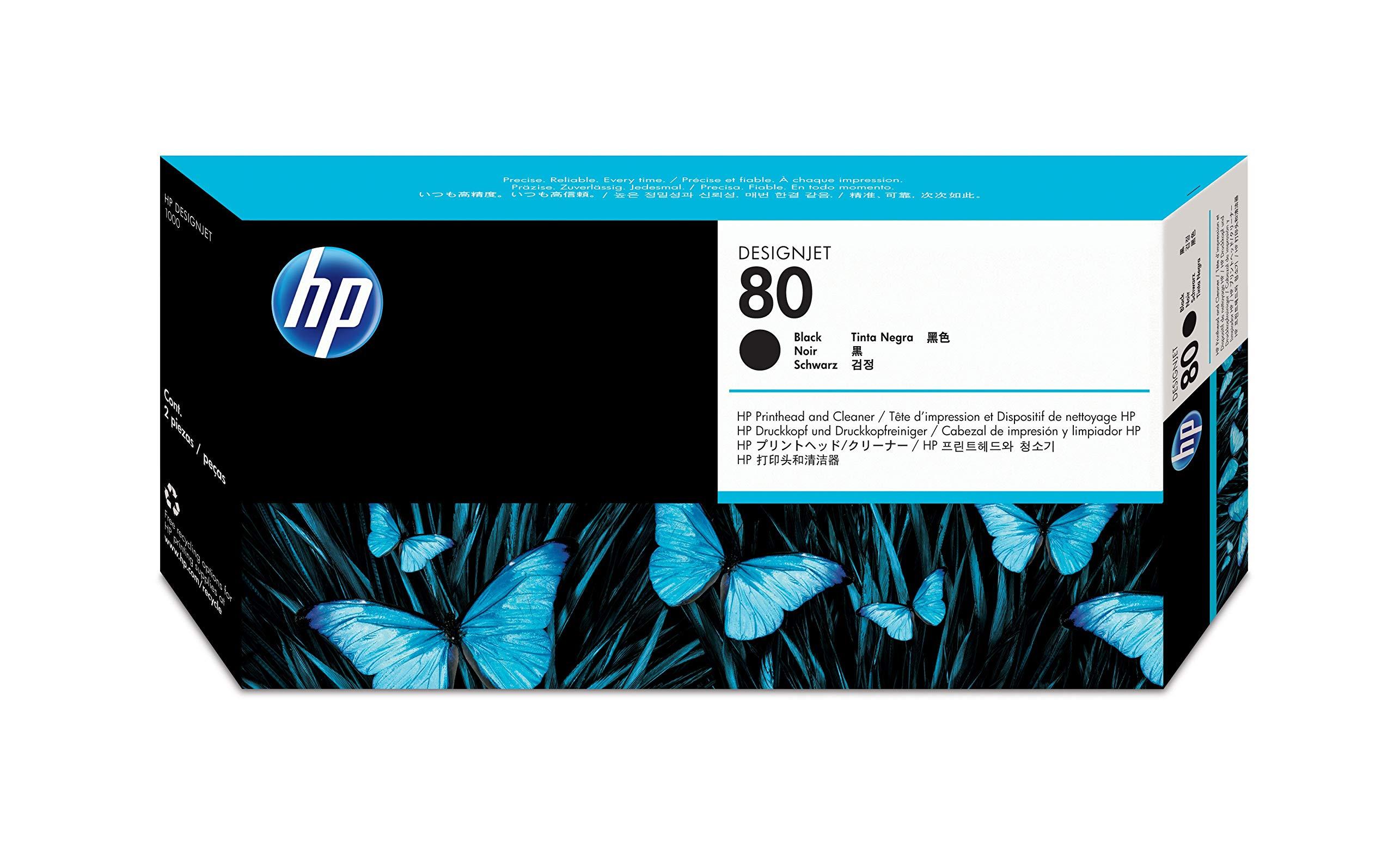 HP DesignJet - Cabezal de Tinta, Negro: Amazon.es: Oficina y papelería
