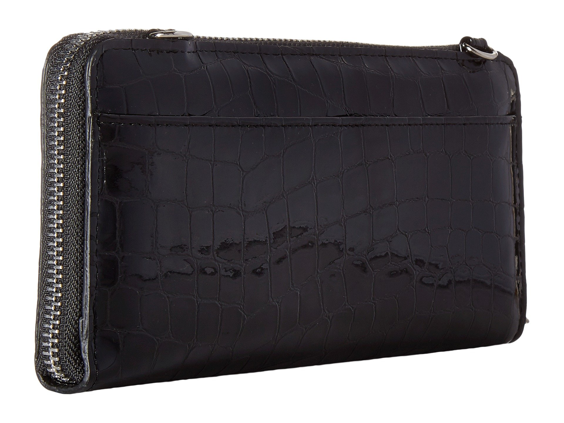 Brighton Wallet Black Heart Zip Bellissimo 4rOw4qg