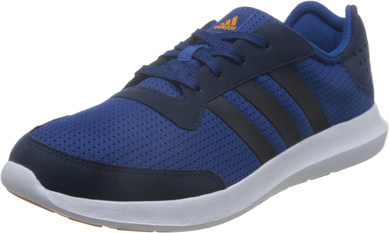 Adidas Men's Element Refresh M Running shoes, bluee Black   White (Eqtazu Maruni   Eqtnar), 6.5
