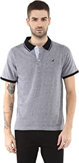 AMERICAN CREW Men's Polo Collar T-Shirt