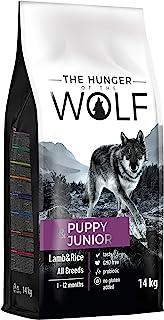 The Hunger of The Wolf Alimento seco para cachorros y animales jóvenes con cordero y arroz de todas las especies, fórmula ...