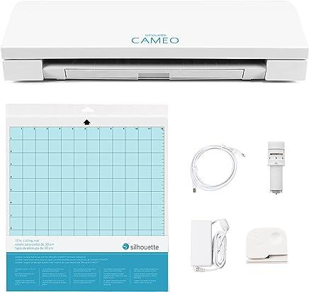 Silhouette CAMEO 3, Macchina da taglio wireless, AutoBlade, Dual Carriage, Studio Software, Bianco - Confronta prezzi