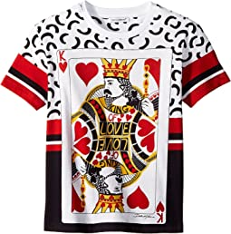 Dolce & Gabbana Kids - King of Hearts T-Shirt (Toddler/Little Kids)