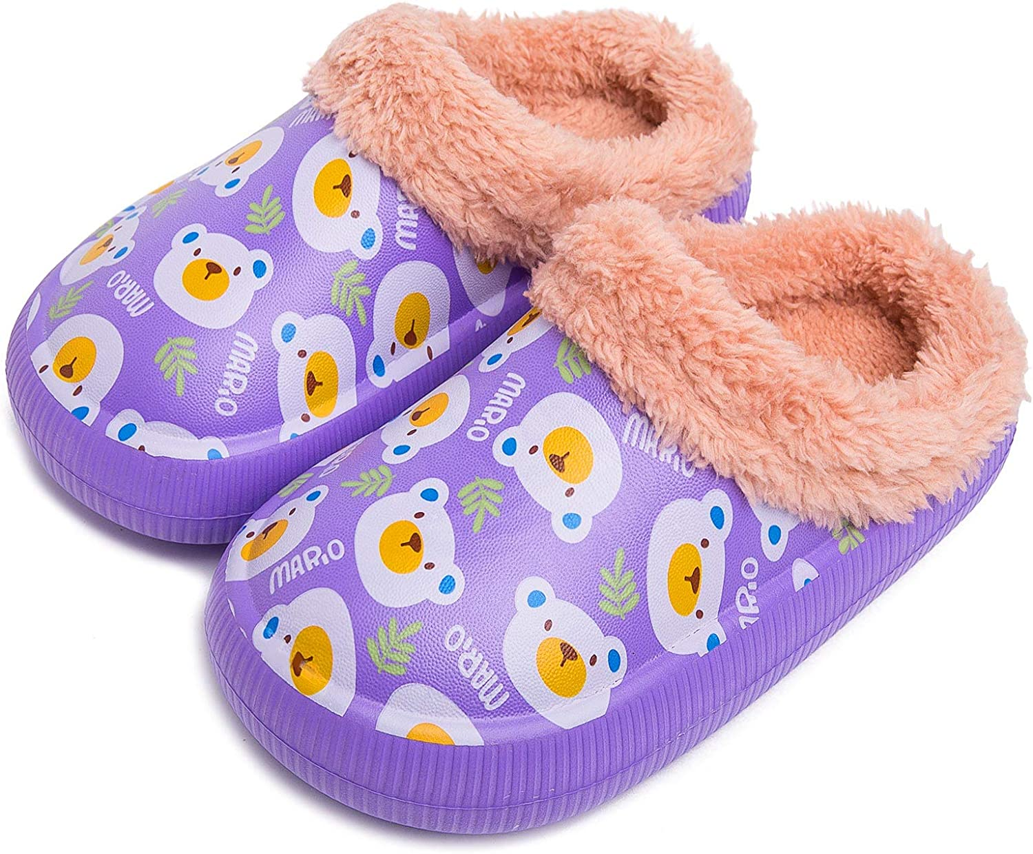 Toddler Clogs Cute Cartoon Our shop most popular Boys Clog Girls Fur Lined Lowest price challenge Waterproof