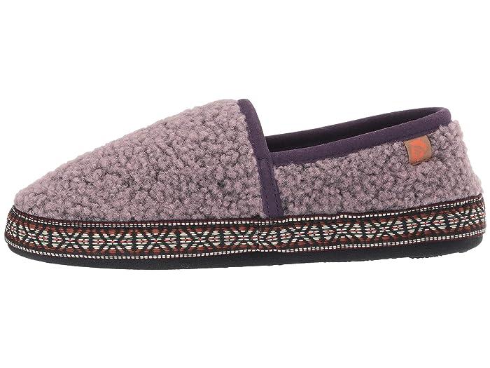 Acorn Woven Trim Moc - Zapatos Pantuflas