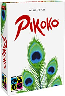 BRAIN GAMES Pikoko Card Game - A Unique and Surprising Game of Logic & Deduction - Play with Kids Age 10+, Teenagers and A...