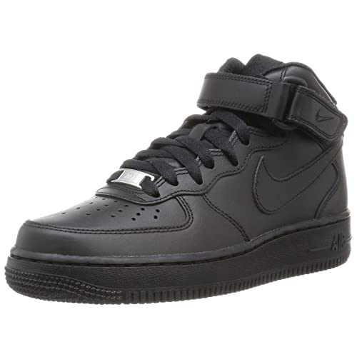 grande vente a4fb7 ad5e2 Black Air Force Ones: Amazon.com
