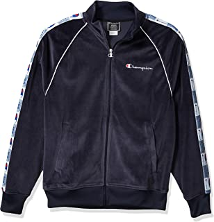 Champion LIFE Men's Velour Track Jacket