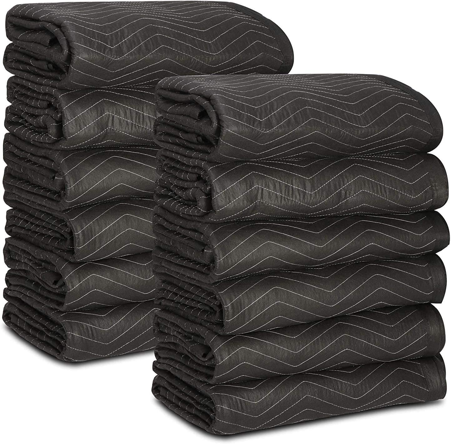 12 Moving Super sale Packing Blankets - 80 x lb Heavy Houston Mall 72 Dut dz Inches 65