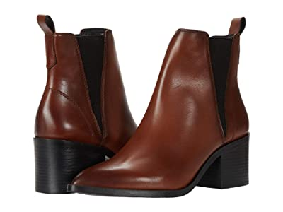 Steve Madden Audience Boot (Cognac Leather) Women