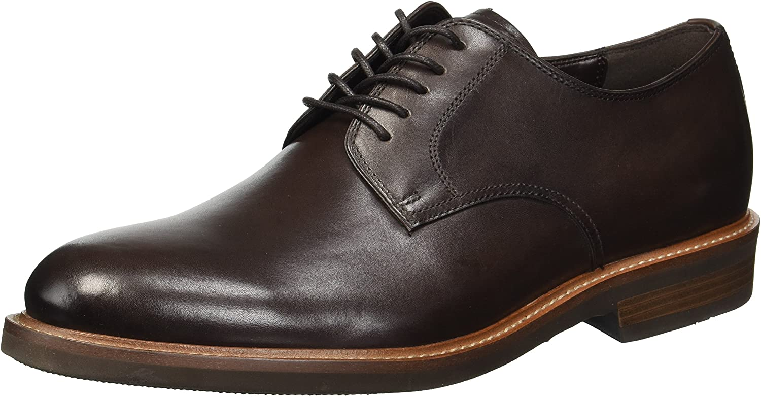 Kenneth Cole REACTION Hommes's Klay LACE UP B Oxford, Dark marron, 11 M US