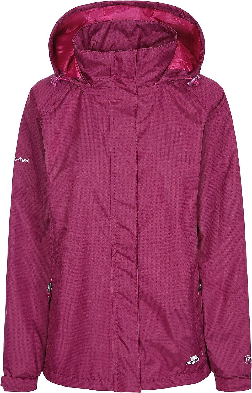 Trespass Lanna II Womens Waterproof Jacket Windproof Hooded Coat
