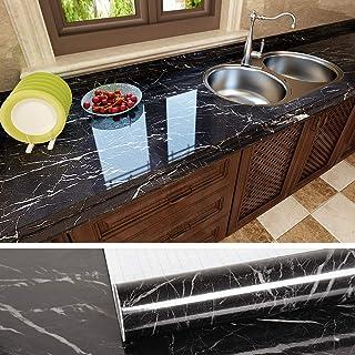 VEELIKE Papel Pintado Pared Autoadhesivo Lavable Vinilo Adhesivo para Encimera de Cocina Papel Adesivo Decorativos Muebles...