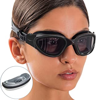 Sponsored Ad - AqtivAqua Polarized Wide View Swimming Goggles // Swim Workouts - Open Water // Indoor - Outdoor Line