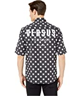 Versus Versace - Logo Short Sleeve Button Down