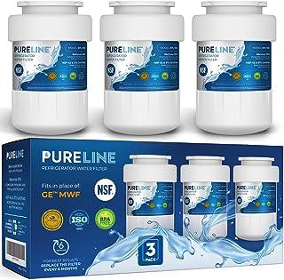 Pureline MWF Water Filter Replacement. Compatible with GE MWF, MWFP, MWFAP, MWFA, MWFINT, GWF, GWFA, HWF, HWFA, HDX FMG-1,...