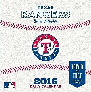 Turner Texas Rangers 2016 Box Calendar, January-December (8051418)