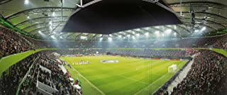 Wolfsburg Stadion Panorama - Poster 120 x 50 cm - hochwertiger FineArtPrint