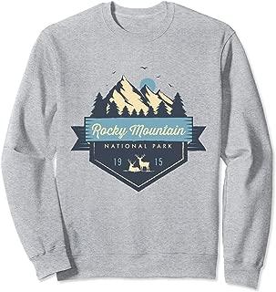 Rocky Mountain National Park Cool Vintage Mountain Sweatshirt