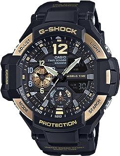 Casio 卡西欧 G-Shock 黑色表盘树脂石英男式手表 GA1100-9G