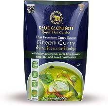Blue Elephant Royal Thai Cuisine, Thai Premium Curry Sauce, Green Curry, 10.6oz Package