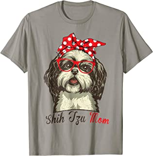 Funny Shih Tzu Mom Shirt for Dog Lovers-Mothers Day Gift