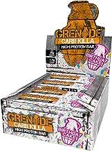 Grenade Carb Killa High Protein and Low Sugar Bar, 12 x 60 g - Birthday Cake