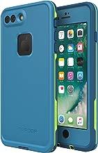 Lifeproof FRĒ SERIES Waterproof Case for iPhone 8 Plus & 7 Plus (ONLY) - Retail Packaging - BANZAI (COWABUNGA/WAVE CRASH/LONGBOARD)