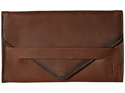 STS Ranchwear Silo Wallet (Tornado Brown) Handbags