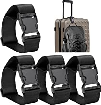 Frienda Add a Bag Luggage Strap Adjustable Suitcase Belt Straps Accessories for Connecting Luggage