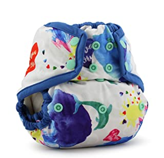 Rumparooz One Size Cloth Diaper Cover Snap, Lava