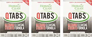 QTabs Maximum Strength Cleansing Formula by Herbal Clean - 30 Cleansing Tablets