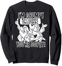 Disney Snow White Grumpy Cause You're Dopey Sweatshirt