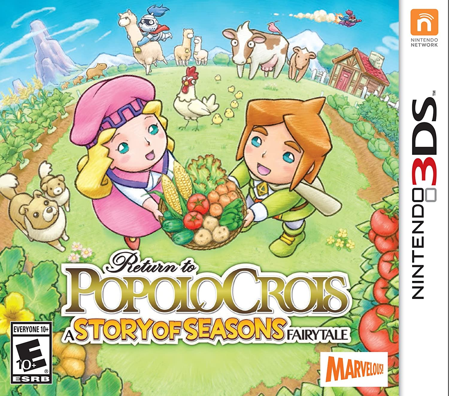 Return to PopoloCrois: A STORY OF Indefinitely SEASONS Fairytale Brand new - 3 Nintendo