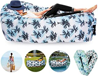 FORNY Inflatable Air Sofa Lounger Hammock Floating Couch Water Proof Pool Toy 2.0 for Beach Camping Picnics