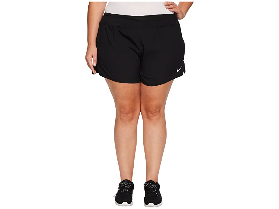 Nike Eclipse 5 Running Short (Size 1X-3X) (Black) Women